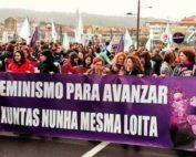 Manifestación feminista en Galicia PRAZA.GAL en eldiario.es