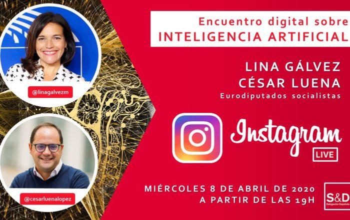 Debate AI en Instagram Live