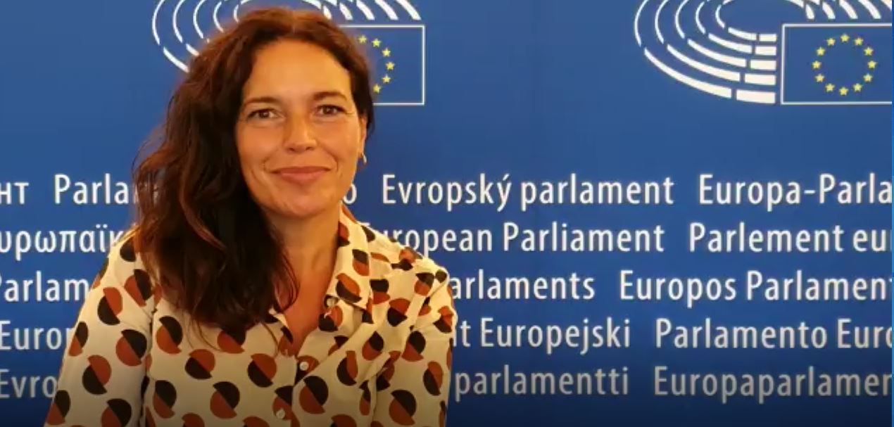 Lina Gálvez - 1er. debate UE