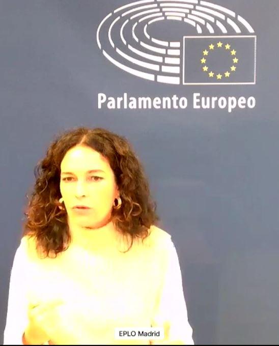 Intervención Lina Gálvez en Pleno - FEMM